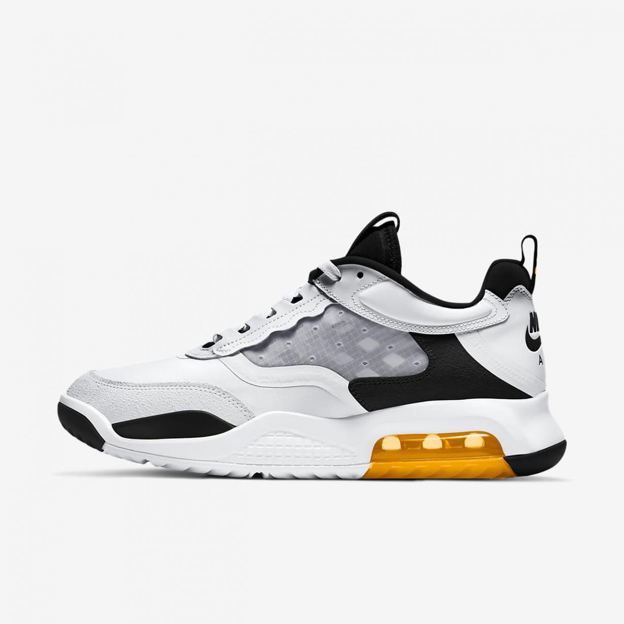 Jordan Homme   Max 200 Blanc/Noir/Orange laser   Jordan < Gooddaytricities
