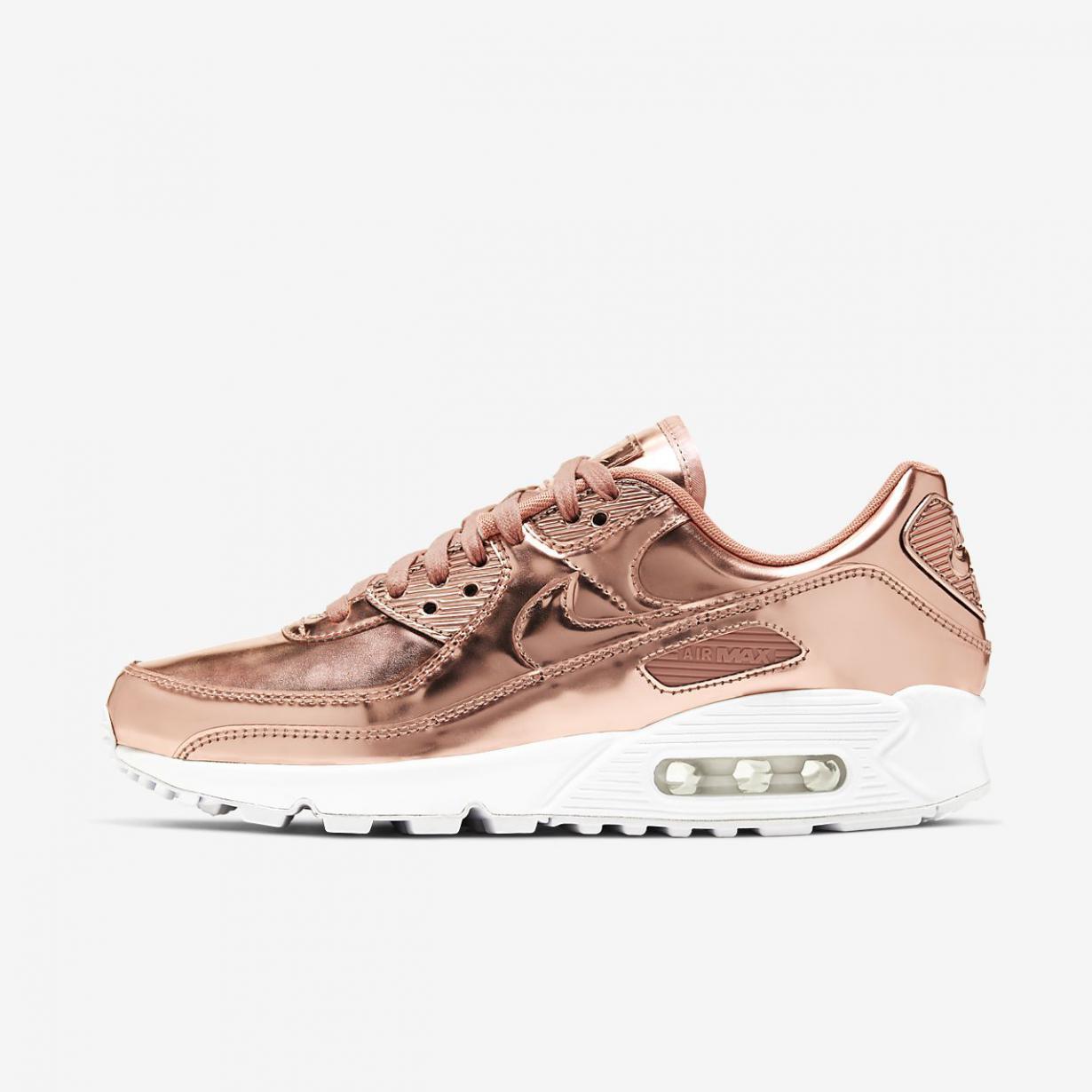 Lifestyle Homme | Air Max 90 SP Rose doré/Bronze rouge métallique/Blanc/Rose doré | Nike < Gooddaytricities