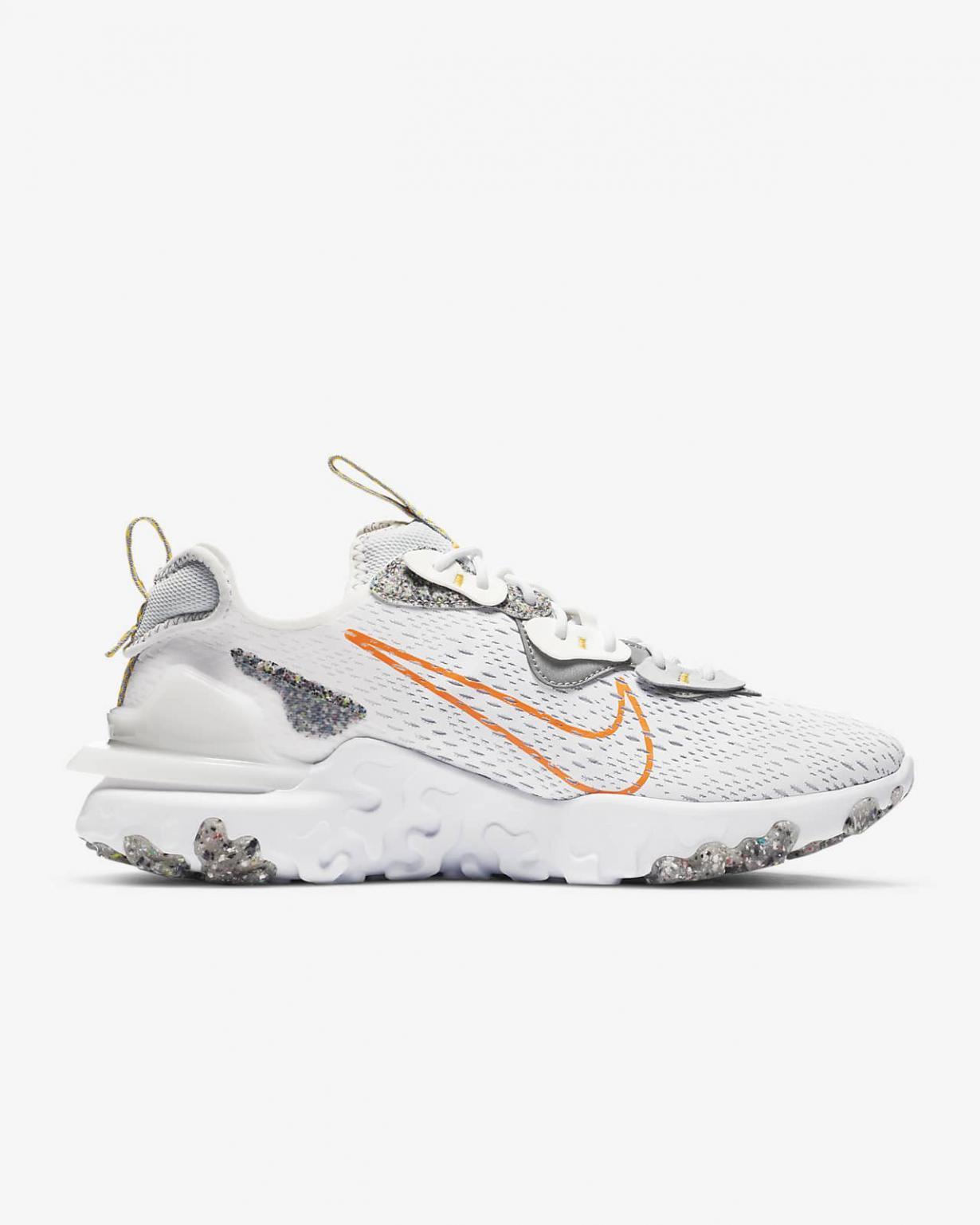Lifestyle Homme | React Vision Blanc/Orange laser/Voile/Orange total | Nike < Gooddaytricities
