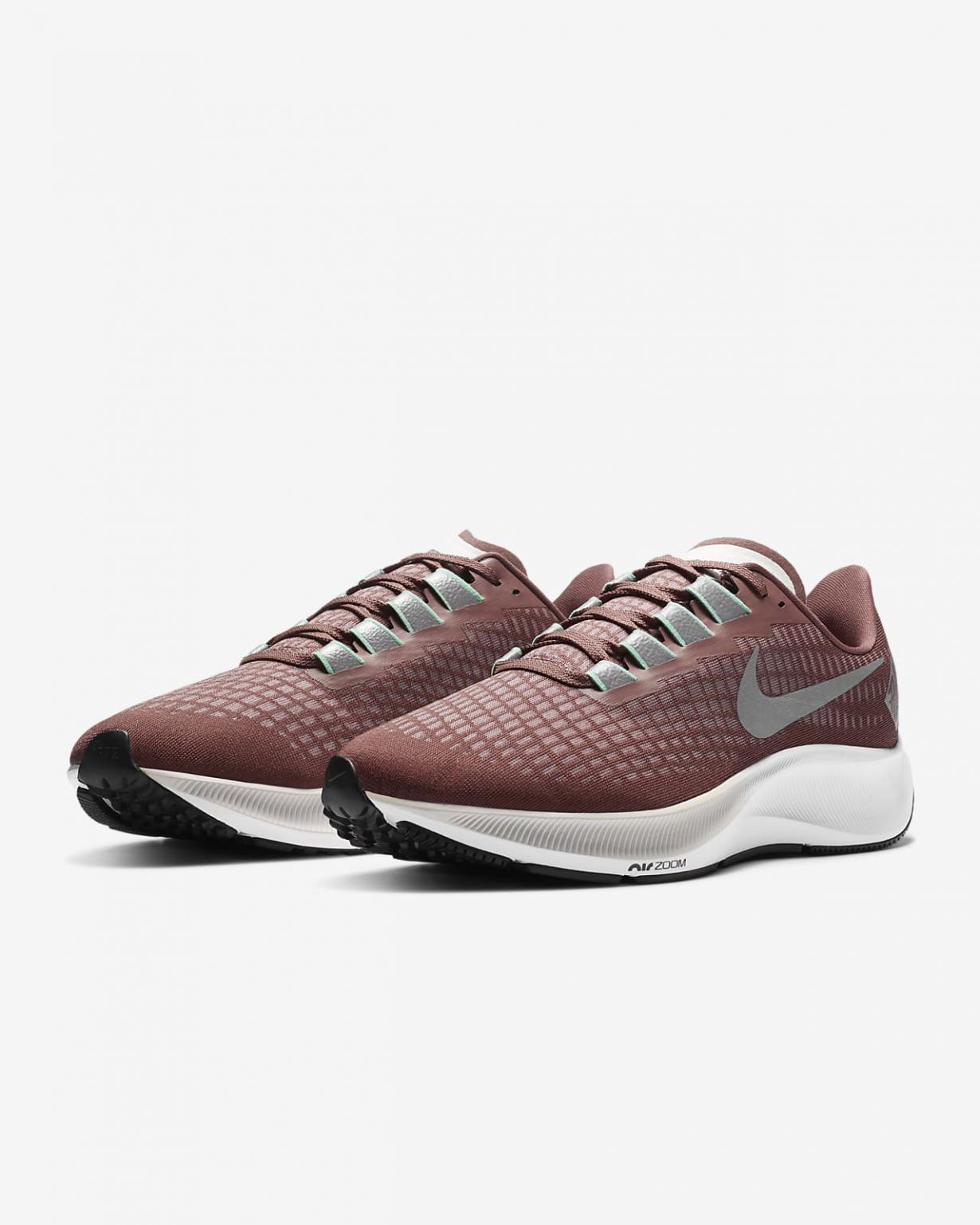 Running Homme   Air Zoom Pegasus 37 Rouge argile/Blanc/Beige clair/Argent réfléchissant   Nike < Gooddaytricities