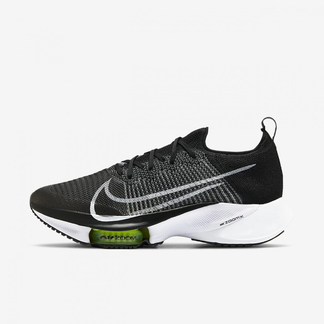Running Homme   Air Zoom Tempo NEXT% Noir/Volt/Blanc   Nike < Gooddaytricities