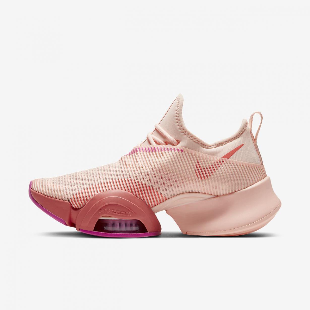 Training et fitness Femme | Air Zoom SuperRep Corail Délavé/Tison magique/Rose feu | Nike < Gooddaytricities