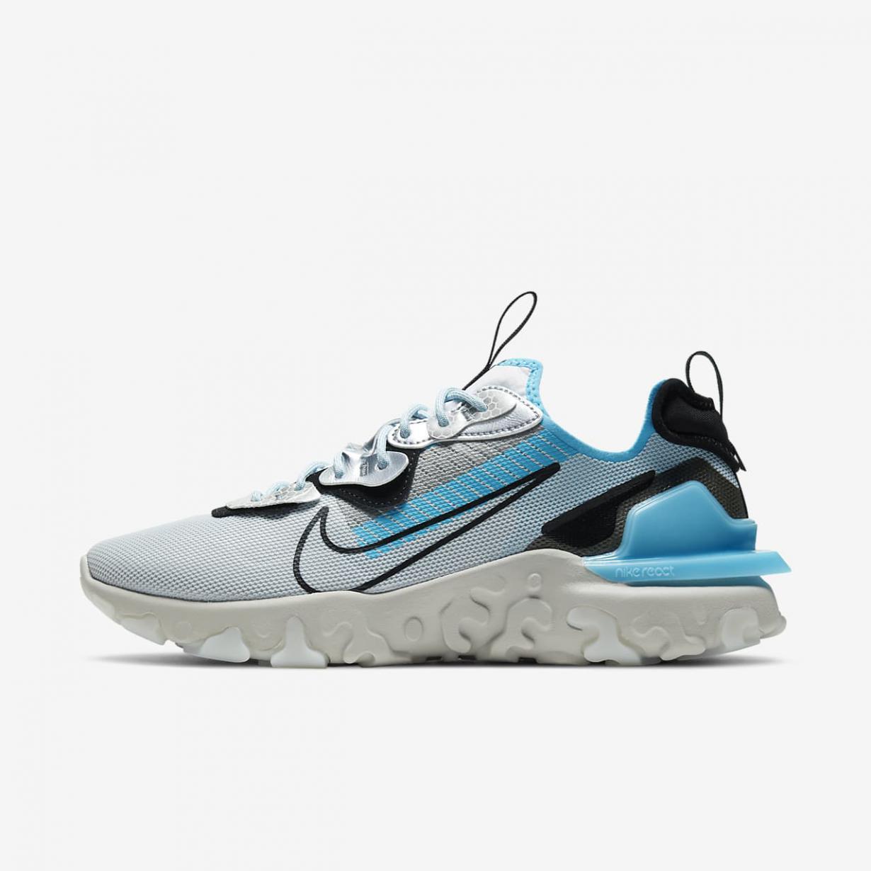 Lifestyle Homme | React Vision PRM 3M™ Platine pur/Noir/Blanc/Bleu Baltique | Nike < Gooddaytricities